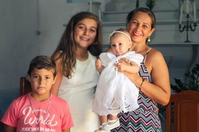 Muita emoção no Batizado de Valentina Fontana